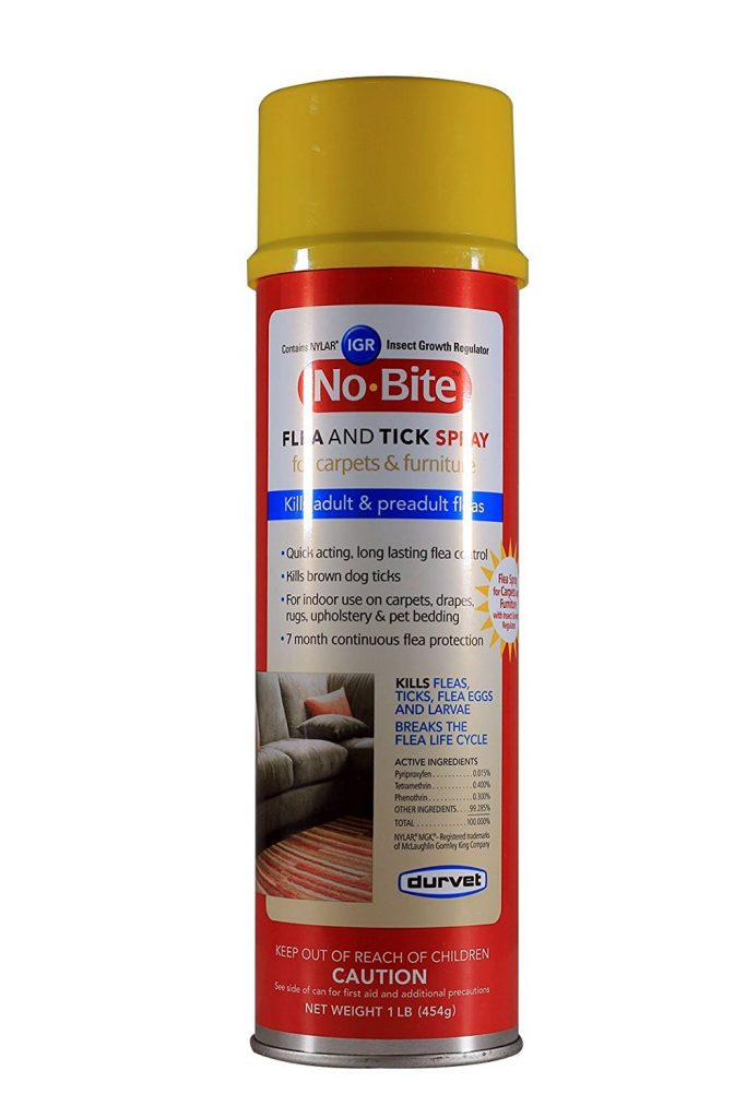Durvet No Bite IGR Flea & Tick House & Carpet Spray
